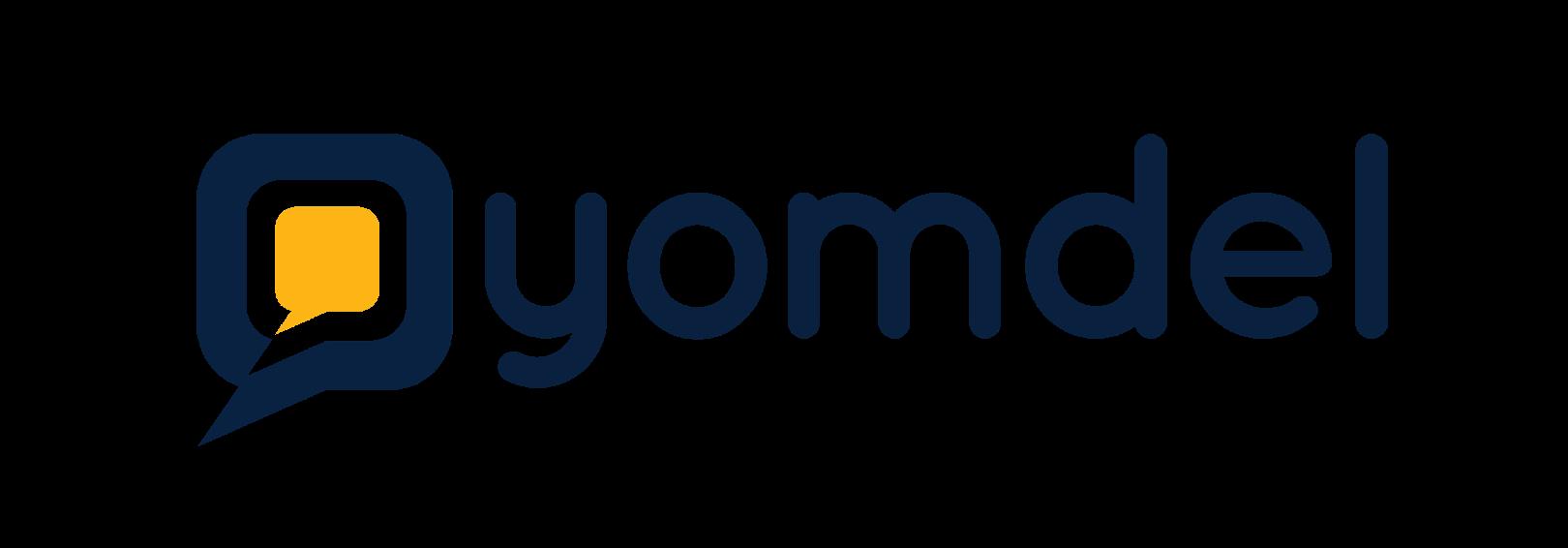 Yomdel website Header plain logo